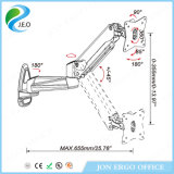 Support réglable de moniteur de Jn-Ga12fu stand tournant de moniteur de 360 degrés