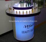 Tabella acrilica rotonda cosmetica della visualizzazione con l'indicatore luminoso del LED