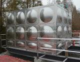 Acero inoxidable que cultiva el tanque de agua del tratamiento de aguas