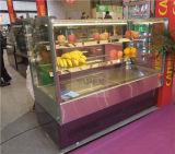 슈퍼마켓을%s 고속 냉각 케이크 전시 냉각기 진열장