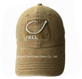 Бейсбольная кепка мытья способа тяжелая с вышивкой 3D (LY132)