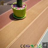 Pavimento de prancha de madeira plástica impermeável WPC