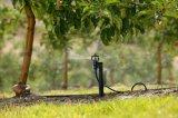 Полив потека спринклера микро- оросительной системы аграрный