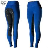 Silicona ecuestre Jodhpurs Micro Mujer Pantalon Asiento completo