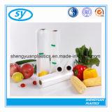 Sachet en plastique personnalisé transparent de HDPE/LDPE pour la nourriture