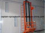 Anhebende Plattform verwendet im Großen Spray-Stand