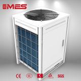 12.5kwを冷却し、熱するヒートポンプに水をまく空気