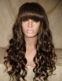 가득 차있는 레이스 Wigs/Human 머리 Wigs/Lace 가득 차있는 Wigs/Curly 레이스 머리 가발