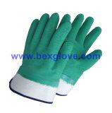 Желтый работы рукавицы, для тяжелого режима работы вещевого ящика