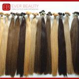 薄い色の熱い融合のインドの人間の前に担保付きの毛の拡張