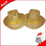 安い昇進の麦わら帽子の麦わら帽子の昇進の帽子のカーボーイ・ハット