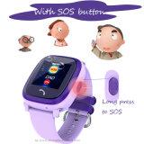 다채로운 접촉 스크린 (D25)를 가진 GPS 추적자 시계가 IP67에 의하여 농담을 한다