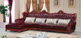 Nouveau canapé classique en cuir de haute qualité, canapé d'Europe (A36)