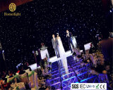 4*6m de estadio iluminado telón de fondo LED LED BLANCO CORTINA cortina estrella