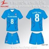 Healong Sportkleidung-Entwerfer-Farben-Sublimation-Fußball Jersey
