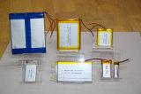 603048 de 3.7V 900mAh de polímero de litio recargable, batería de alimentación
