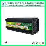 フルオート12V 2000W DCの交流電力のコンバーター(QW-M2000)