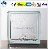 Jinghuaの高品質の斜めラインゆとりのガラス・ブロックか煉瓦
