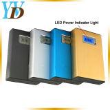 El aluminio portátil USB cargador de móvil Banco de potencia de 6000mAh (YWD-PB9).