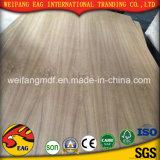 Madera contrachapada natural de la teca de E1/E0 2.7m m -18mm para los muebles