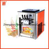 カウンタートップの販売のための機械を作る商業ソフトクリーム
