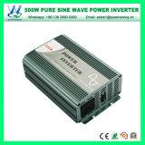 Inversor puro usado Home portátil da onda de seno 500W (QW-P500)