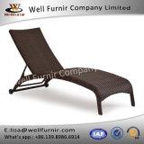 Sala de estar sem braços do Chaise da concha de tartaruga de vime ao ar livre boa de Furnir T-020