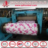 PPGI Ziegelstein-beschichtete hölzerne Muster-Farbe Stahlring