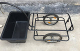 플라스틱 많은 자전거 자전거 기관자전차 접히는 화물 공용품 트레일러