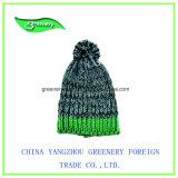 Chapéu Multicolor do Knit do inverno da forma 2017 relativa à promoção