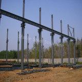 Atelier assemblé léger préfabriqué de structure métallique avec la grande envergure