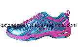 Le badminton respirable des sports des femmes chausse les espadrilles d'intérieur d'entraîneur de Corss de gymnastique