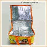 Großer Aluminiumfolie-thermischer Kühlvorrichtung-Großhandelsisolierbeutel mit Reißverschluss