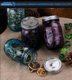 480ml farbiges Frucht-Essig-Glaskugel-Maurer-Glas mit Deckel