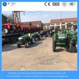 Landwirtschaftlich/Bauernhof/Minitraktoren 48HP 4WD mit Werkzeugen/Drehpflüger/Pflug/Schnee-Schaufel/Mäher/Schlussteil