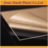 Taglio di strato acrilico libero del plexiglass PMMA per graduare 122X244cm secondo la misura
