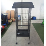 Convencional Metal Large Bird Cage Parrot Cage with Brake