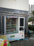 Bebida de gran capacidad Máquina automática de venta con moneda y aceptor de billetes