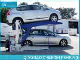 Столб 2 двойного цилиндра гидровлический опрокидывая подъем стоянкы автомобилей автомобиля/автомобиля