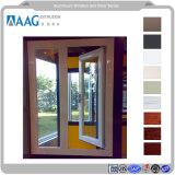 알루미늄 단면도 이탈리아 모기장을%s 가진 120의 시리즈 열 절연제 여닫이 창 Windows