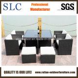 Rattan-Tisch und Stuhl stellen ein,/der im Freien eingestellten Speisetisch (SC-A7222)