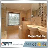 Revestimiento de mármol barato de piedra natural de la pared del azulejo para la decoración del chalet