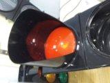 Sinal do estilo da UE & do diodo emissor de luz/luz verdes vermelhos & ambarinos do Semaphore