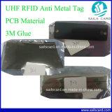Etiqueta anti del metal de la frecuencia ultraelevada RFID del precio de fábrica con la muestra libre