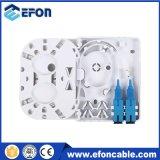 FTTH Mini2 Kern-optischer Wand-Montierungs-Anschluss, Innen-FTTX Kasten
