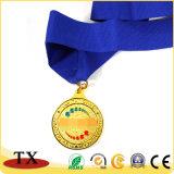 Médaille 2018 de pièce de monnaie de souvenir pour la médaille personnalisée de logo gravée en relief par métal