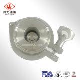 Kleppen van de Controle van de Prijs 304/304L/316/316L van de fabriek de Sanitaire Roestvrij staal Vastgeklemde