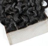 Virgin Cheveux humains de la Dentelle la clôture au prix de gros (vague française)