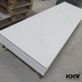 Белый искусственный камень твердой поверхности мраморные плиты
