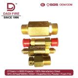 Sistema extintor del alto de coste del funcionamiento 4.2MPa del tubo gas de la red FM200